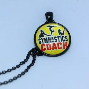 Gymnastics Coach Pendant Necklace
